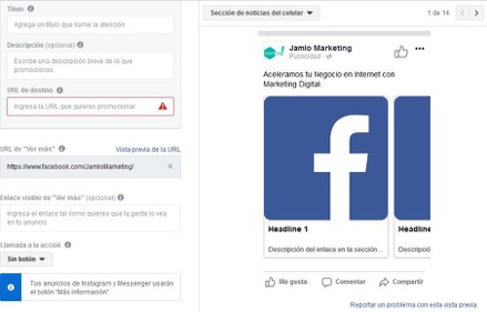 Copy creativo anuncios facebook