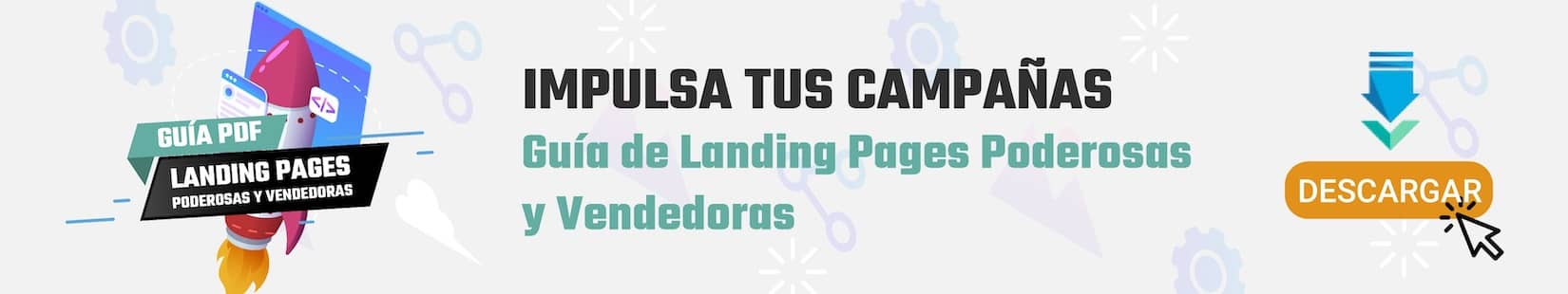 Crea Landing pages Vendedoras